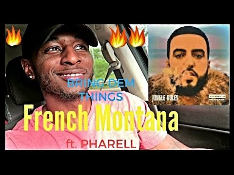 French Montana - Bring Dem Things ft. Pharell  Reaction (Roll With D)