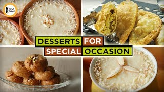 Desserts For Special Occasion by Food Fusion