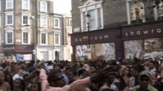 Rapattack Soul Sound at Notting Hill Carnival 2013 part 1 of 2