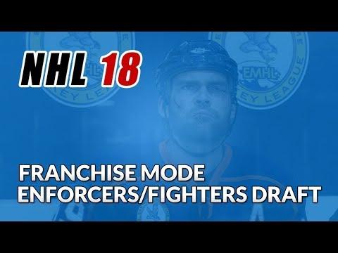 NHL 18 - Enforcers/Fighters Fantasy Draft Challenge!