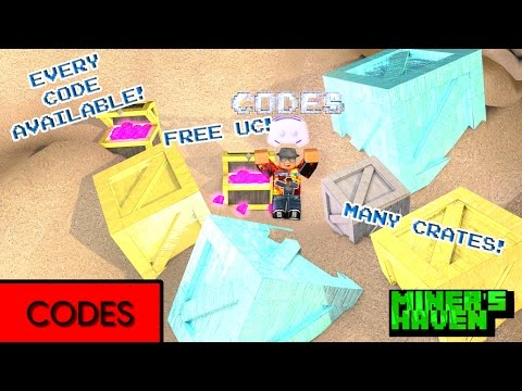 Miners Haven: ALL CODES (Discord code) (Always Updated) (JULY 2017) (DESCRIPTION)