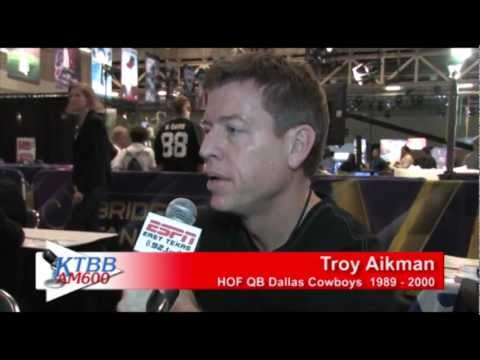 Troy Aikman on the Cowboys and the Hall of Fame