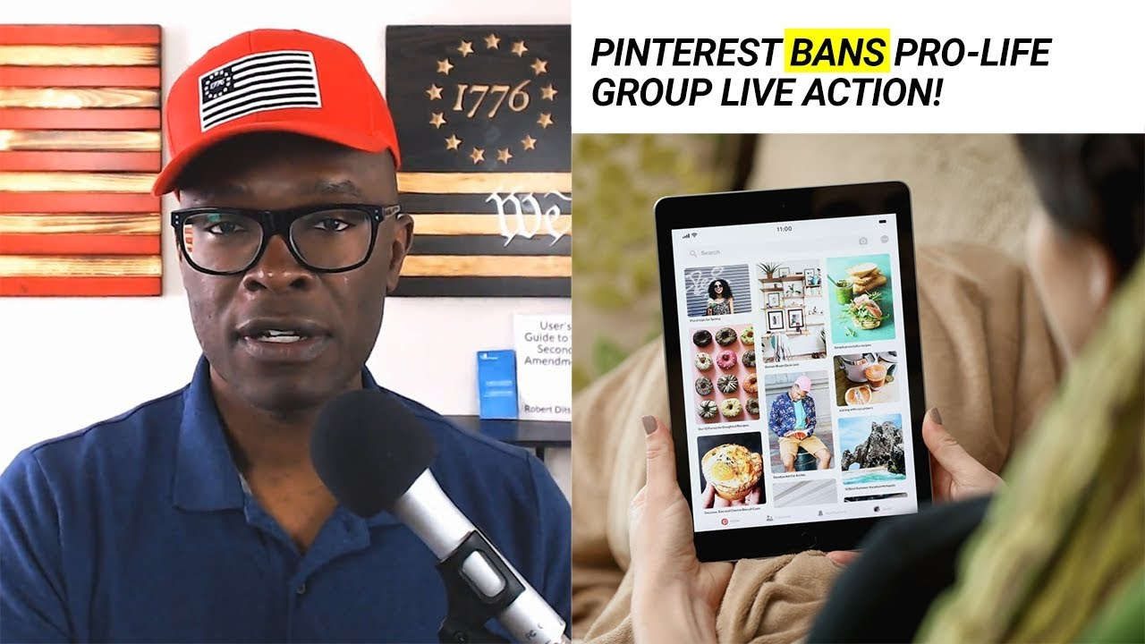 Anthony Brian Logan - Pinterest Gets EXPOSED By Project Veritas; Gets Their Video REMOVED!