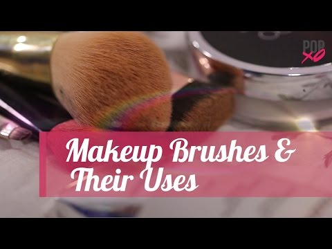 Types Of Makeup Brushes & Their Uses | Makeup for Beginners - POPxo - YouTube