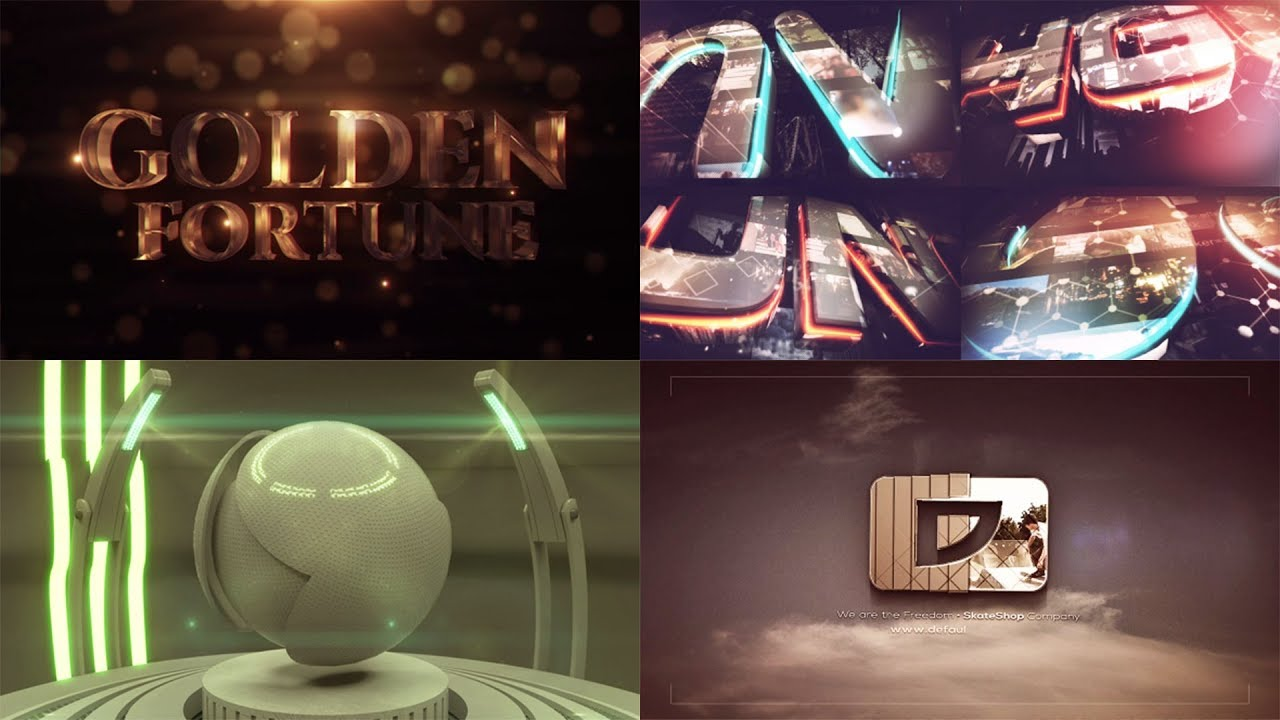 Top 8 logo Template Free After Effects #4