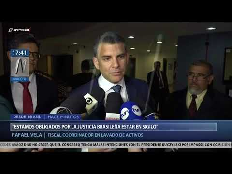 Brasil: culmina el interrogatorio de fiscales peruanos a Odebrecht (Canal N)