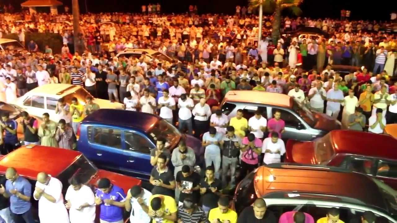 Тахаджуд намаз более миллиона мусульман в Александрии ...