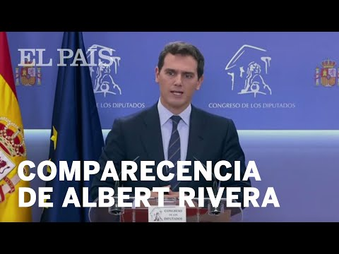 "Albert Rivera: ""Vamos a velar para que no haya indultos"""