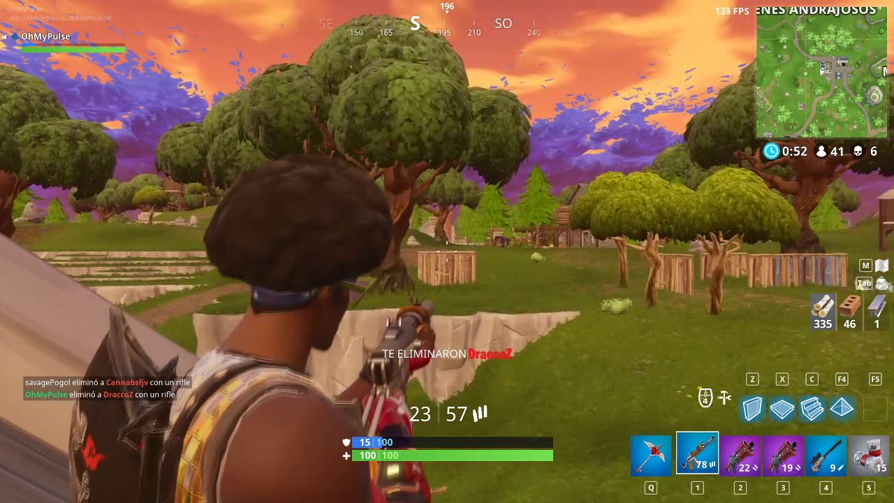 Win   but you have to play on Brazil Servers (250 Ping) (Fortnite)