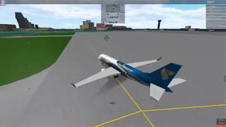 Roblox Fun as Oman Air Embraer E-175 Pilot Training Flight!