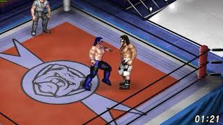 Power Move Pro Wrestling Mat Demo - Fire Pro Wrestling World