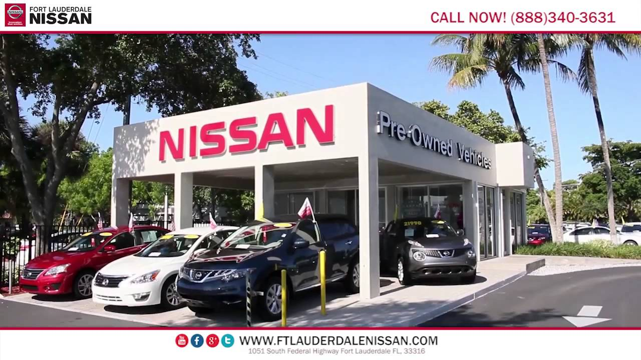 Nissan Dealer Miami >> Nissan Dealer Fort Lauderdale Miami Hollywood Florida