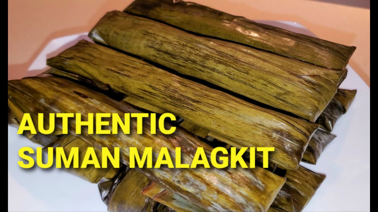 Download AUTHENTIC SUMAN MALAGKIT|HOW TO MAKE SUMAN MALAGKIT|SUMAN MALAGKIT