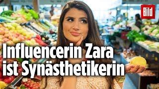 Wenn Zahlen Farbe haben: Influencerin Zara ist Synästhetikerin
