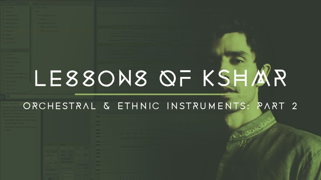 Lessons of KSHMR: Orchestral and Ethnic Instruments Part 2