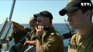 Израильский патруль у берегов Газы