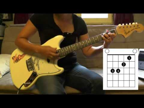 How to play Eagle eye sherry ' Save tonight ' ★Tuto Guitare Tab ★