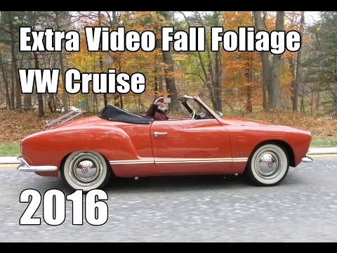 Classic VW BuGs 2016 Fall Foliage Hudson Valley Cruise Extended Footage