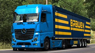 [ETS2 v1.38] Mercedes Benz New Actros 2019 by Actros 5 Crew