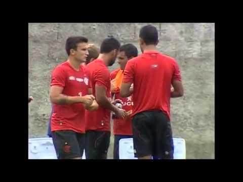 Ibson Vs Renato Santos & Alex Silva Discutem - Treino Do Flamengo