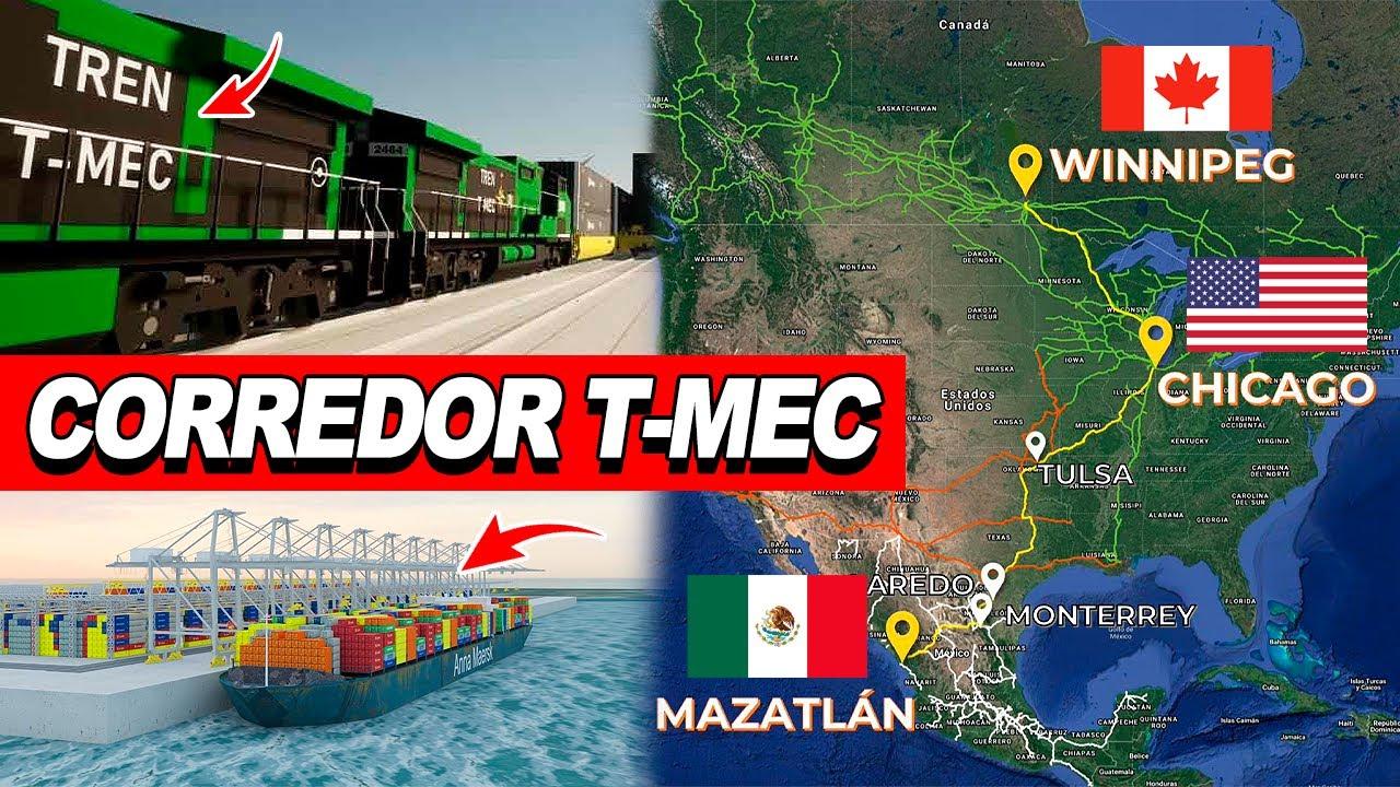 ¡Mira! Ya Todo listo para iniciar la construcción del AMBICIOSO MEGA PROYECTO DEL CORREDOR T-MEC