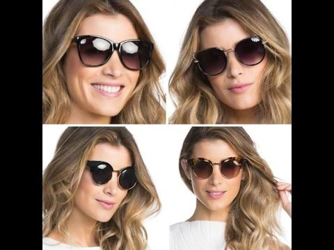 816925174824d Moda Fashion em Óculos de Sol em 2017 - YouTube