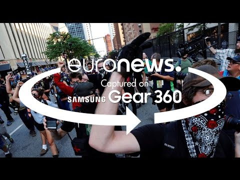 360° video: On the streets of Cleveland during 2016 Republican Convention