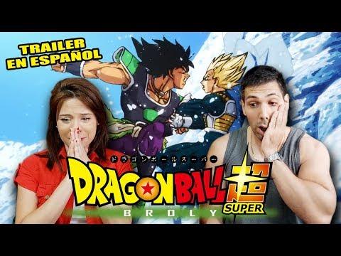 REACCIÓN AL NUEVO TRAILER DE LA PELÍCULA DE DRAGON BALL SUPER: BROLY   ¡ME VUELVO LOCO!