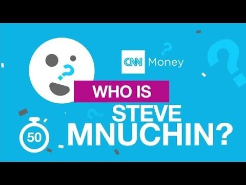 Steve Mnuchin in 90 seconds