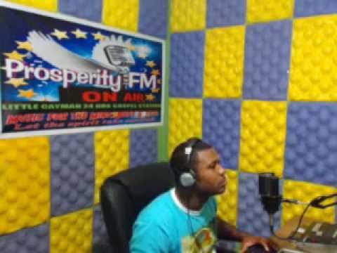 ''PRAISE WITHOUT LIMIT'' 26,01, 2014 ON PROSPERITY FM IN CAYMAN WITH DJ ROBERT