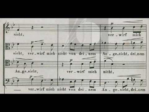 Brahms - Schaffe in mir, Gott, ein rein Herz op. 29 nº 2