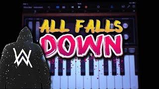 Download Lagu Alan Walker - All Falls Down ft. Noah Cyrus with Digital Farm Animals (GARAGEBAND TUTORIAL) Mp3