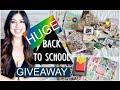 HUGE BACK TO SCHOOL Supplies Haul GIVEAWAY