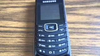Samsung GTE 1080W Ringtone - Samsung Tune