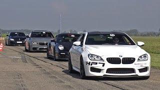 800HP BMW M6 F13 HPT with Dähler Exhaust! Revs & Drag Race!