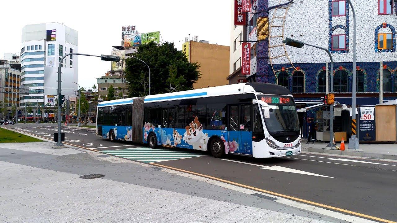 台中客運 雙節公車YUTONG