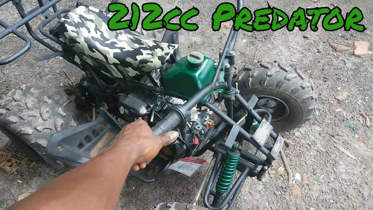 212cc predator motor on Chinese ATV frame