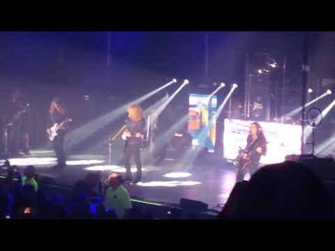 Megadeth. Mechanix! 9/21/17 Rochester, NY .
