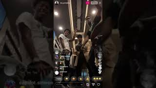 YoungBoy Plays Unreleased Music🔥🔥 (ALMOST SHOOT HIS SELF WITH GUN ON INSTAGRAM LIVE)