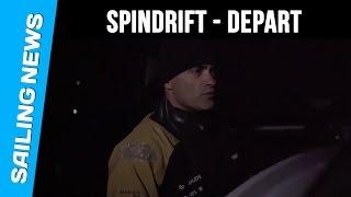 Spindrift - Trophée Jules Verne 2015 - Passage de ligne de départ
