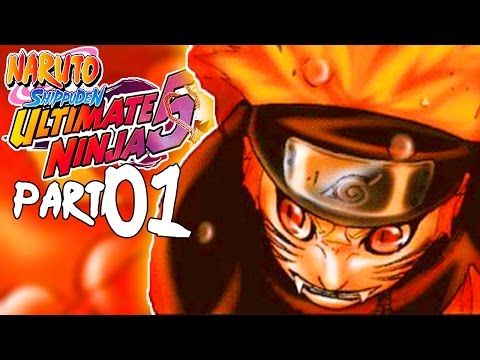 FOUR TAILS NARUTO! AWESOME! | Naruto Shippuden: Ultimate Ninja 5 - Walkthrough Part 1, Gameplay PS2