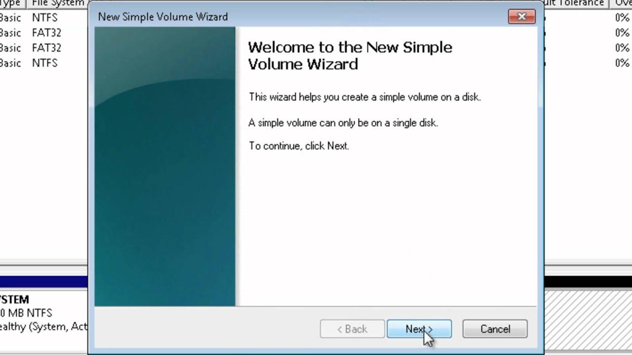 how to partition and un-partition a hard drive (Vista/7/XP ...