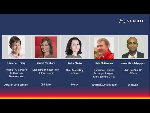 AWS Summit Singapore - Panel Discussion – Build for Tomorrow – Best Practices from Industry Leaders