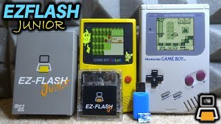 EZ-Flash Junior For GameBoy/GBC! Setup Guide!