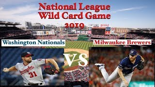 MLB #NationalLeagueWildcard # 2019 National League Wild Card Game Recap and review Look ahead to NLDS.