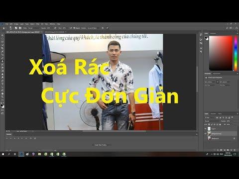 Hướng Dẫn Xoá Rác Trong Photoshop - Cách Xoá Vật Thể Bất Kì Trong Pts Các Phiên Bản