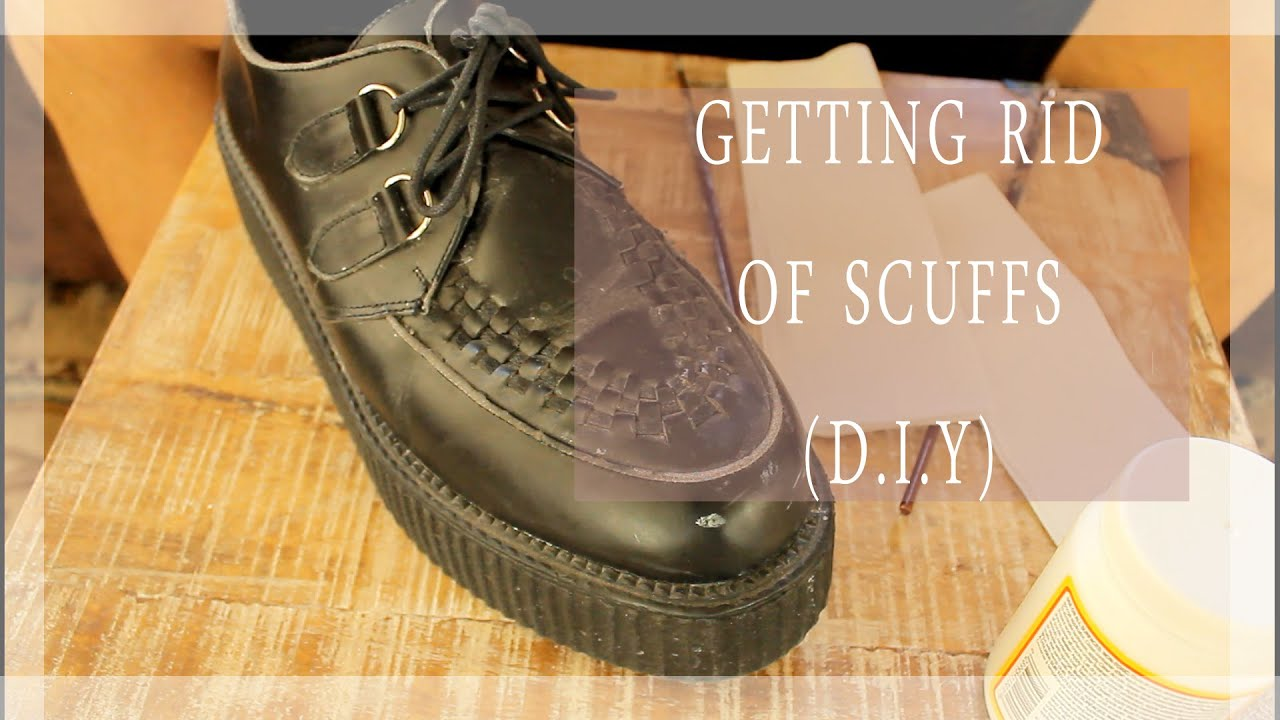 D I Y How To Get Rid Of Scuffs Ses On Shoes Really Easy Affordable And Fast You