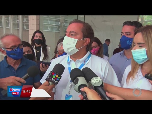 O Povo na TV - Presidente da Caixa Econômica visita Hospital Napoleão Laureano