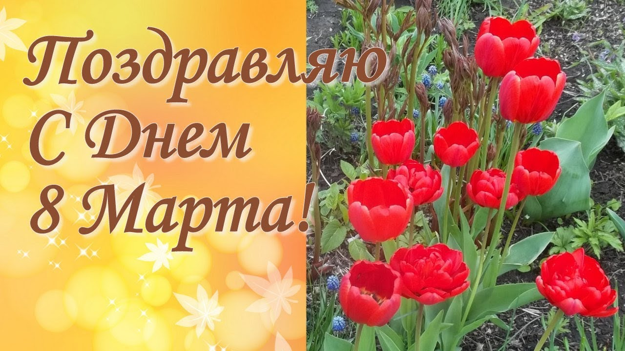 Поздравление с 8 марте сватье