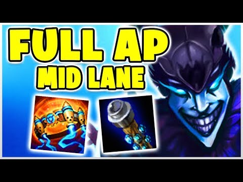 FULL AP SHACO MID LANE! Noway4u Twitch Highlights (Deutsch/German) LoL